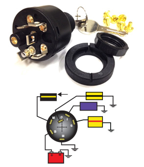 MP39760 seastar solutions marine ignition switch wiring diagram at n-0.co