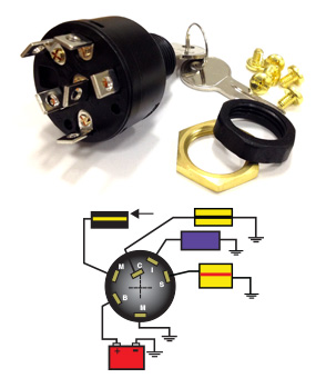 wiring diagram boat ignition switch wiring diagram and hernes boat wiring diagram source seastar solutions