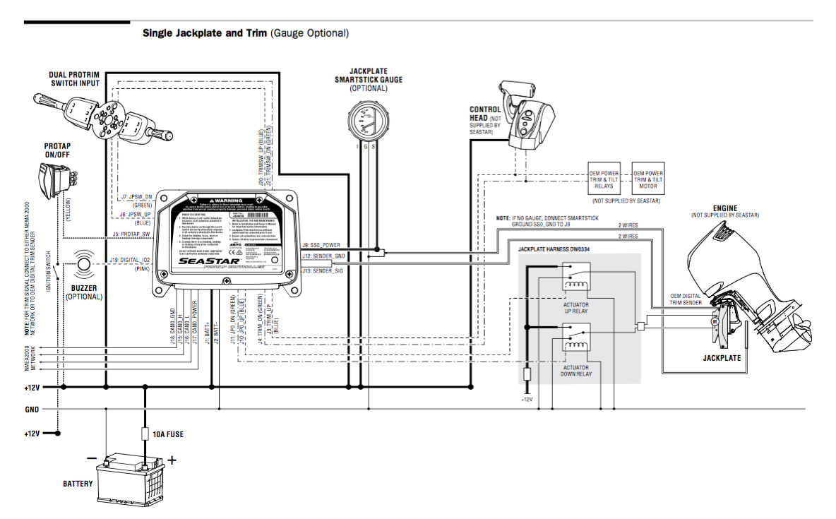singlejackplatediagram seastar solutions bob's jack plate wiring diagram at bayanpartner.co